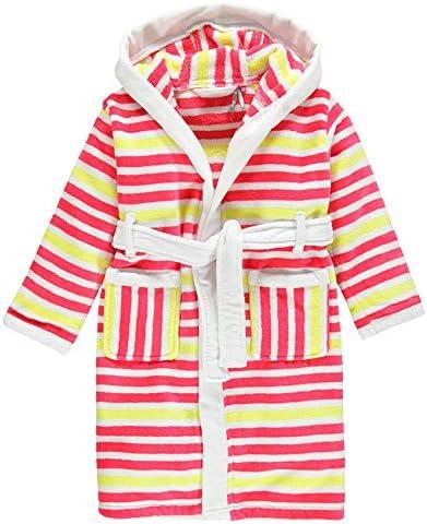 Albornoz infantil de algodón de rizo con capucha, para niño, 100 ...