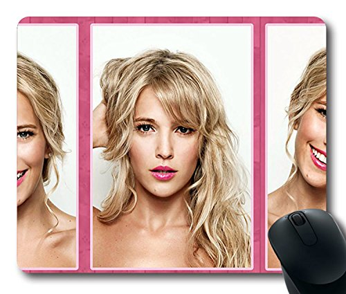 Hot Sale Custom Sexy Girl Mouse Pad With Luisana Loreley Lopilato Non Slip Neoprene Rubber Standard Size 9 Inch 220Mm  X 7 Inch 180Mm  X 1 8 Inch 3Mm  Mouse Mat