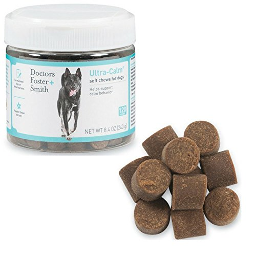 Doctors Foster AND Smith Ultra Calm Soft Chews for Dogs - 120 Count - Recommended by Veterinarians