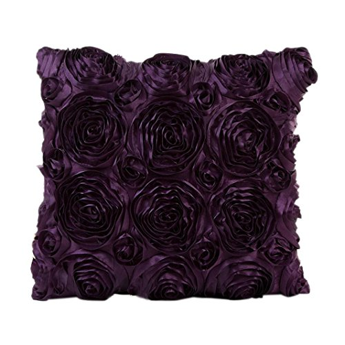 [TOOPOOT Pillowcase Sofa Waist Cushion Cover Home Decor (purple)] (Pillowcase Dress Costume)