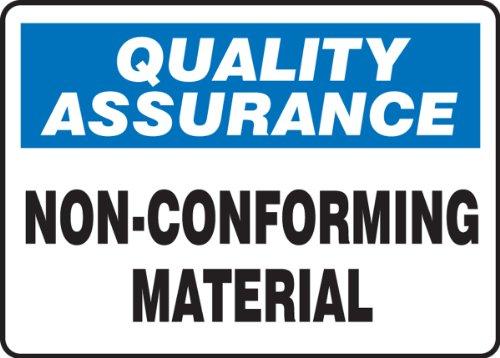 (Accuform MQTL925XV Adhesive Dura-Vinyl Sign, Legend