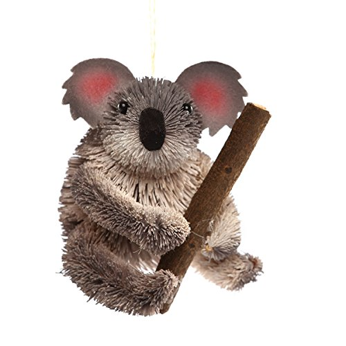 GGI 3.75-in. Buri Fiber Ornament, Koala