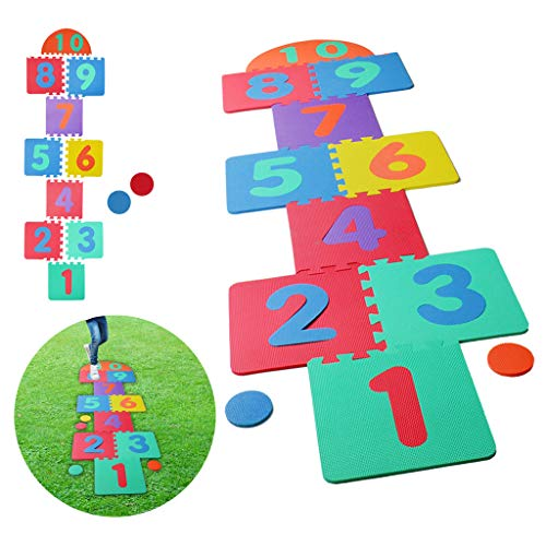 Hopscotch Playmat Foam Interlocking Puzzle Floor Mat