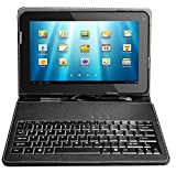 10 inch Leather Keyboard Case for 10.1'' Tablet PC Epad Apad MID