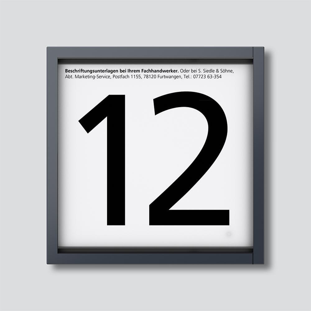 Siedle – Informationen Modul IM612–0 AG anthrazit 210004927