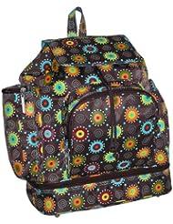 Kalencom Doodlebug Backpack - Chocolate (Discontinued by Manufacturer)