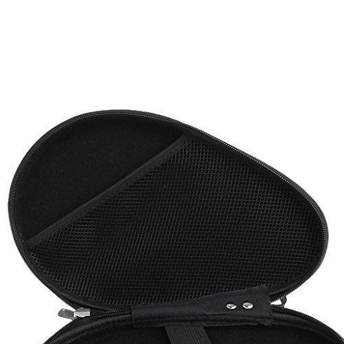 85b4835a26d MonkeyJack Waterproof Material Table Tennis Racket Hard Case Ping Pong Bat  Bag Cover Hold 2 Paddles