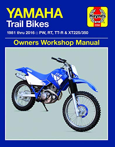 Car R225 - Yamaha PW, RT, TT-R & XT225/350 Trailbikes (81-16) Haynes Repair Manual (Haynes Powersport)