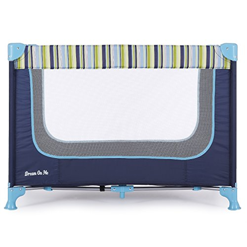 Dream On Me, Zodiak Portable Playard, Navy