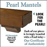 Pearl Mantels 412-72-50 Shenandoah Pine 72-Inch