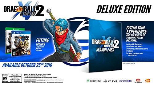 Namco Bandai Games Dragon Ball Xenoverse 2 - Deluxe De lujo PlayStation 4 vídeo - Juego (PlayStation 4, Acción, Modo...