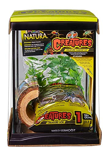 Zoo Med Creatures Creature Habitat Kit, 8.5 by 11 Inch, for Pet Spiders Insects and Other Invertebrates