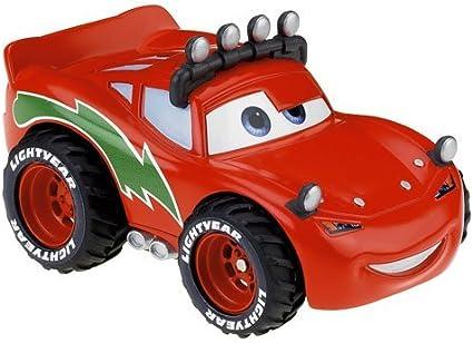 Amazon Com Disney Pixar Cars Movie Christmas Shake N Go Toy Figure Lightning Mcqueen Toys Games