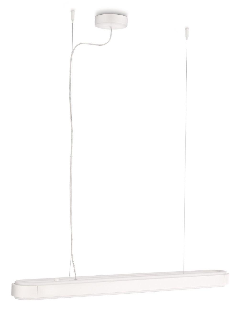 PHILIPS Ecomoods Energiespar- Pendelleuchte  mit 12W, inklusive Leuchtmittel, 2-flammig 407143116