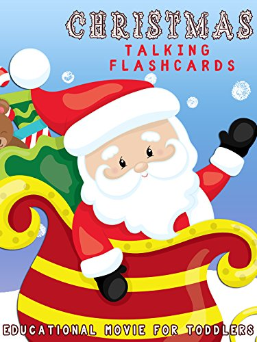Christmas Talking Flashcards- Educational Movie for Toddlers (Childrens Jesus Songs)