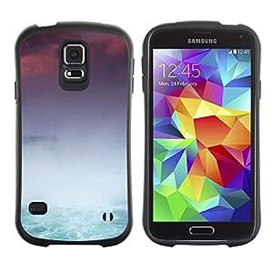 """Hypernova Slim Fit Dual Barniz Protector Caso Case Funda Para Samsung Galaxy S5 [Cataratas del Niágara""""]"""