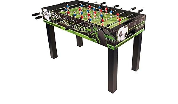 Buffalo. nl Niños Winner Mesa de futbolín, Negro, M: Amazon.es: Deportes y aire libre