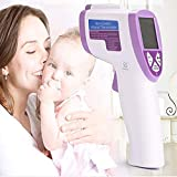 Baby Thermometer - Forehead and Ear Thermometer for Fever - Accurate Dual Mode Professional Medical Body Fever Thermometers for Baby, Kid and Adult
