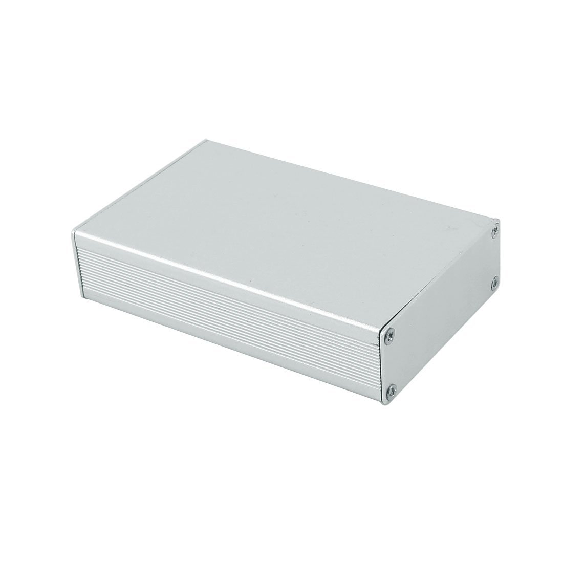 Amazon.com: eDealMax 102 x 64 x 23 mm Polivalente de aluminio extruido carcasa de la caja de Plata del tono: Electronics