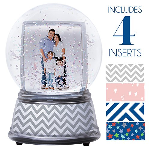 Neil Enterprises Create Your Own Photo Snow Globe