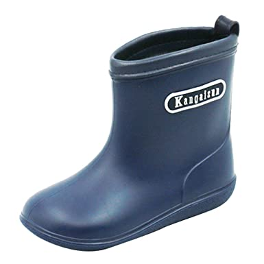 Schuhe Vertvie Und Kinder Jungen Regen Kinderregenstiefel kTwPZuOXil