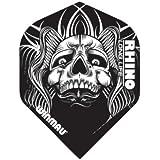 Winmau Rhino Long Life Standard Extra Thick Dart Flights (3 Sets of 3 - 9 Flights)