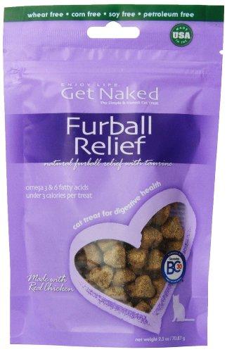 Get Naked Furball Relief Semi-Moist Treats For Cats (Tomlyn Laxatone Hairball Remedy)