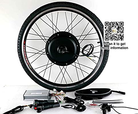 Yoli - Kit de Bicicleta eléctrica (48 V-72 V, 3000 W, 90 km/h ...