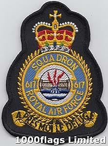 617 ninguìn escuadrón RAF Dambusters la placa bordados remiendo