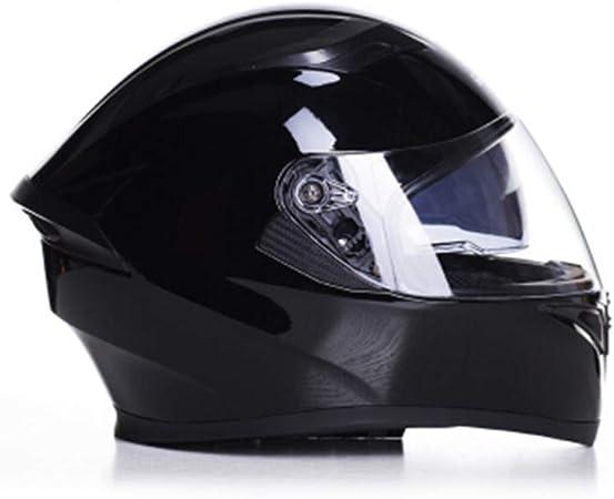 Amazon.es: Carrera Motocicleta Casco Masculino Casco Completo ...