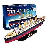 Cubic Fun T4011h Large Titanic 3D Puzzle - DIY Jigsaw