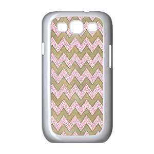 Chevron Shell Phone for samsung galaxy s3 White Cover Phone Case