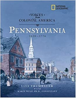 :UPD: Voices From Colonial America: Pennsylvania 1643-1776 (National Geographic Voices From ColonialAmerica). Sporting problems Sistemas Welcome first since Emirate