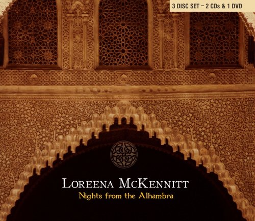 Loreena mckennitt: nights from the alhambra amaray dvd + 2cd.