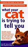 What Your Cat Is Trying to Tell You, John M. Simon and Stephanie Pedersen, 0312972881