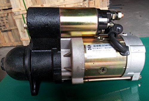 Chinese Diesel Engine Parts 12V QDJ1409D Starter Motor fit for weifang 495/D/ZD/P ZH/K4100D ZH/K4100ZD ZH/K4100P K/ZH4102 Series Diesel Engine/weifang Diesel Generator Parts from OEM