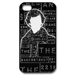 Sherlock - Hot TV Best Design TPU Case Protector For Iphone 4 4s iphone4s-90652