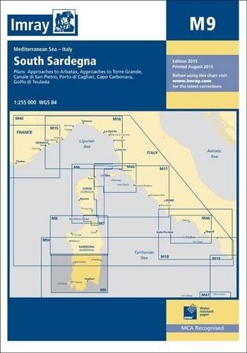 Imray Chart M9: South Sardegna