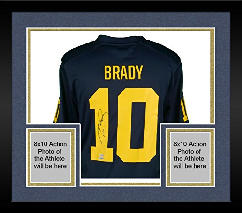 authentic tom brady college jersey