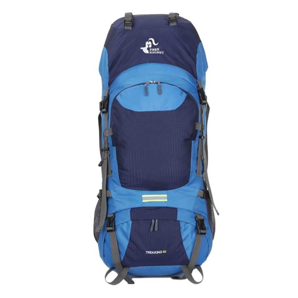 Litthing Trekking Mochila Impermeable 60L Alpinismo al Aire Libre Mochila táctica para Damas de Gran Capacidad