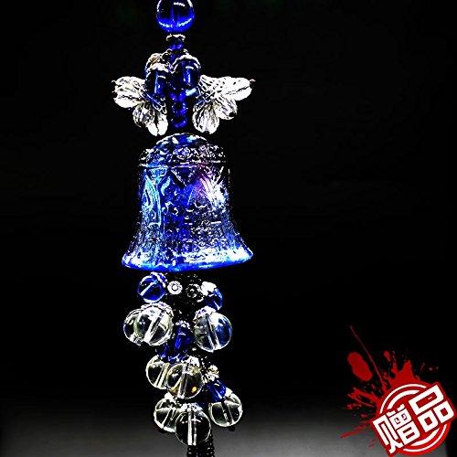 Auto - anhänger Glas Glocken Frieden hochwertige Uhren rückspiegel KFZ - zubehör - anhänger ornamente Männer