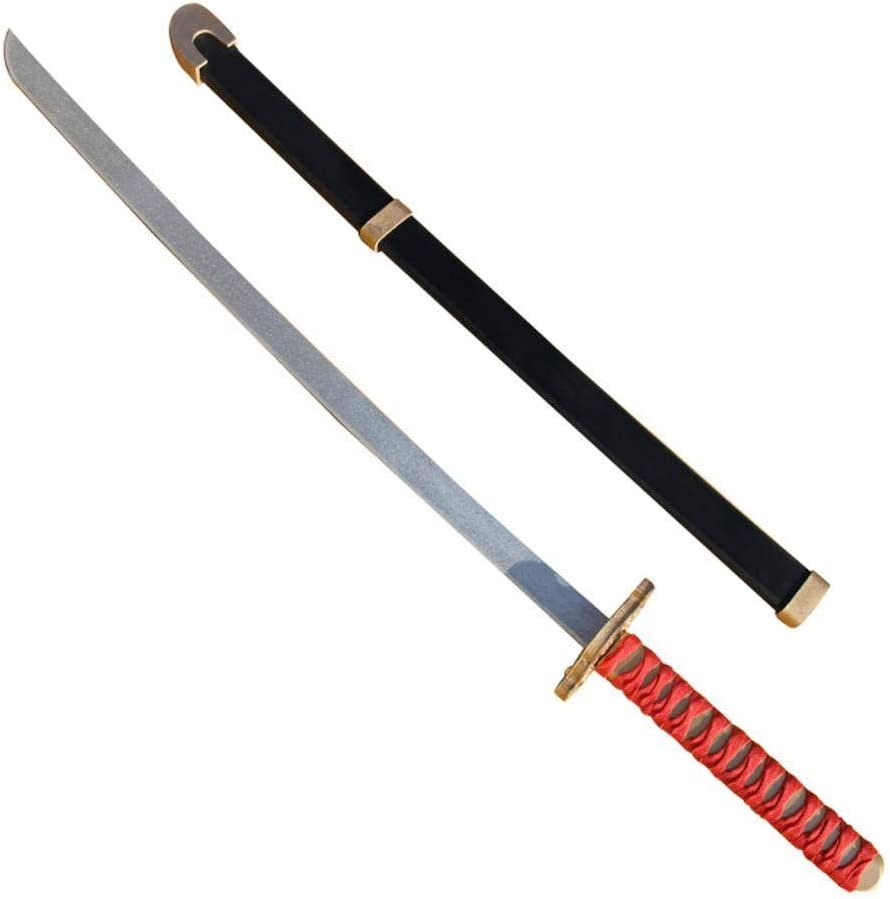 Mtxc Ninja Gaiden II Cosplay Ryu Hayabus Prop Toy Weapons Sword Red