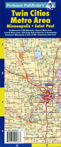 Twin Cities Metro Area: Minneapolis-St Paul: Hedberg Maps Inc., Nat ...
