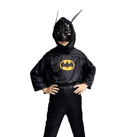 Vestido de Carnaval de Batman Total Black Idea disfraz niño talla ...