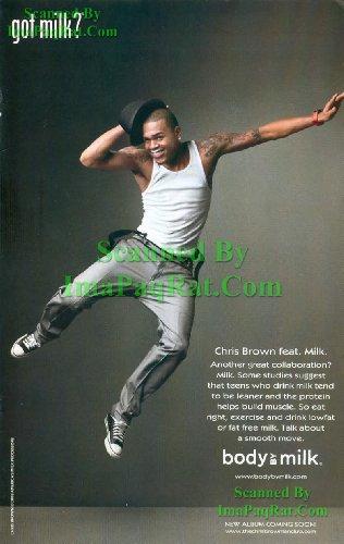 Got Milk? Chris Brown Feat: Great Original PhotoPRINT Ad! Kitchen