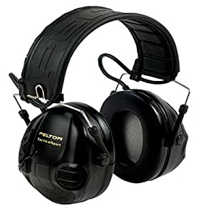 3M 97451-0 Peltor Tactical Sport Hearing Protector, Mp3 Compatible