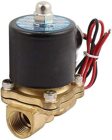 Electrovanne /électrique 1//2 pour eau et air N//C normalement ferm/é AC 220 V