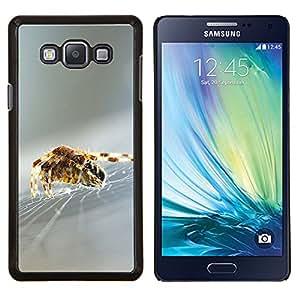 - SILVER BLURRY SPIDER SILK NATURE WEB - Caja del tel¨¦fono delgado Guardia Armor- For Samsung Galaxy A7 Devil Case