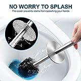 WITAIR Toilet Brush and Holder, Toilet Brush 304