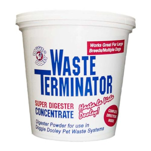 Doggie Dooley Waste Terminator, Nontoxic Natural Enzyme for Doggie (Waste Terminator)
